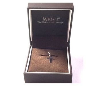 Jared Cross Charm Collection Sterling Silver NWOT